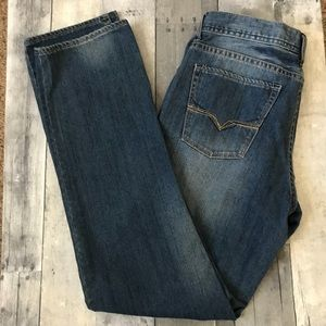 Guess Brit Rocker Slim Straight Jeans - 484